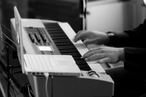 Glasba na gradu