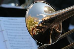 Glasba na pogrebu s trobento